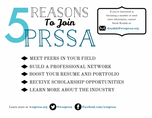 5 Reasons to join PRSSA