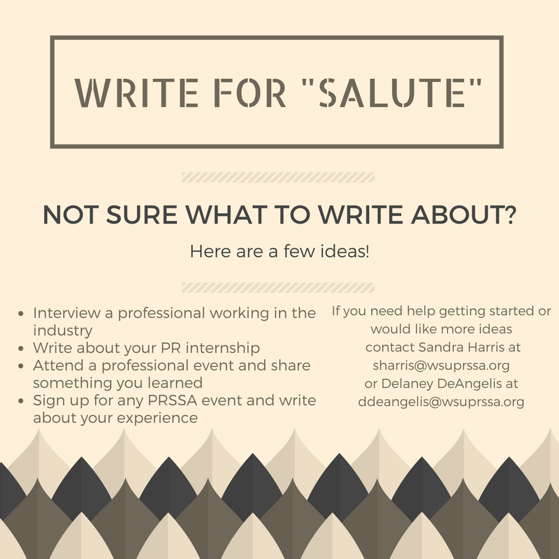 write-for-salute
